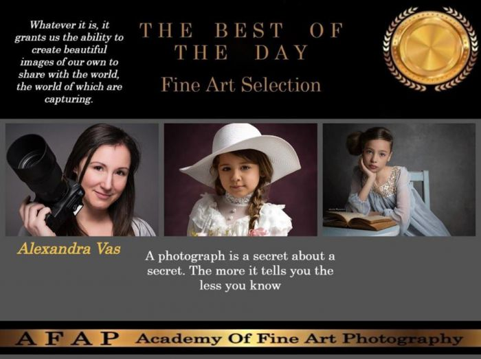 AFAP - Academy of Fine Art Photography Best of the day